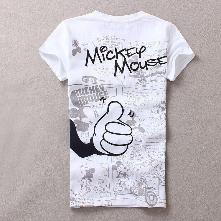 HTB1S7GcOFXXXXbkXVXXq6xXFXXXC - Cute cartoon minnie mouse print t shirt tee top tops shirts