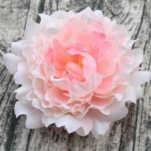 Image 3 - 15pcs/lot 13cm Artificial Happy Peony Silk Flowers Fake Flores Artificiais Wedding Party Decoration Home DIY Landscape Wholesale