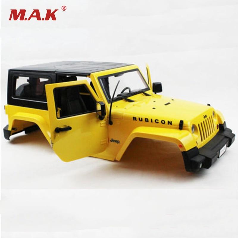 Yellow Body Shell Climbing Car Modified Car Shell For 1:10 RC Model Crawler Car ,1:10 rc car model Accessories