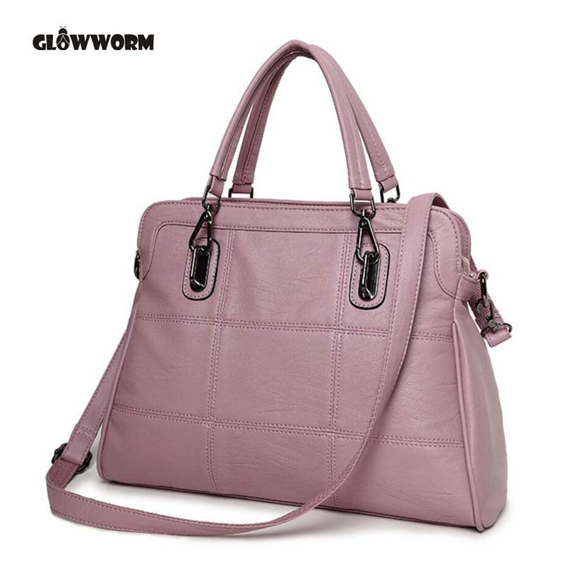 GLOWWORM Fashion Famous Brand Designer Genuine Leather Women Handbag Bag Ladies Satchel Messenger Tote Bags Purse Luggage 5 color famous brand designer tassel women handbag genuine leather shoulder crossbody bags messenger ladies purse satchel retro