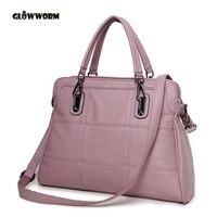 GLOWWORM Fashion Famous Brand Designer Genuine Leather Women Handbag Bag Ladies Satchel Messenger Tote Bags Purse