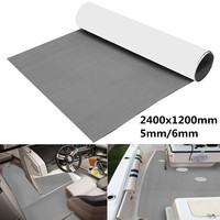 6mm 2400x1200mm 94 X47 EVA Boat Foam Mat RV Touring Car Mat Interior Accessories Teak Decking