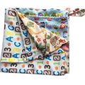 Waterproof Large Hanging Wet/Dry Pail Bag Put In Cloth Diaper Inserts Nappy Reusable Pocket Wet Bag With Zippered Inner bag