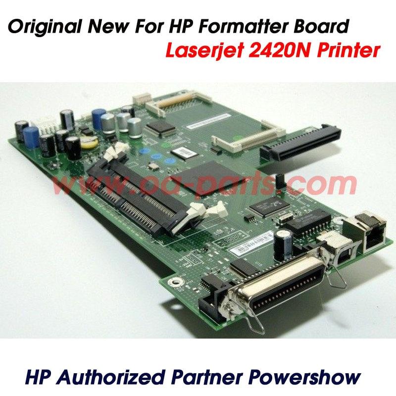 ФОТО Original New For HP2420 HP2420N HP 2420N Formatter Board Main Board Formatter Q6507-61004 Q3955-60003 Q6507-61006 Parts