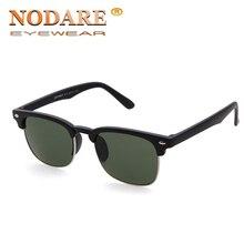 NODARE 2019 Brand Classic Design Semi Rimless Mens Sunglasses
