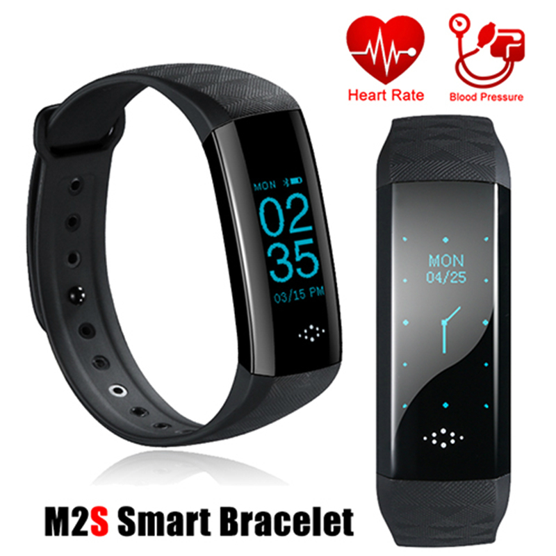 Hiwego M2S Smart Band Watch Blood Pressure Oxygen Heart Rate Monitor Smart Fitness Bracelet Activity Tracker