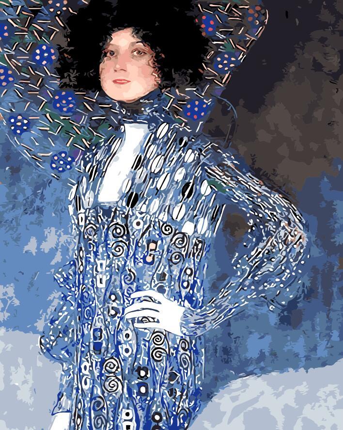 Piktura me figura Emily Home Dekorimi pa kornizë Piktura e pikturës - Dekor në shtëpi - Foto 1