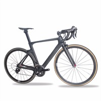 2017 New Design Cheap UD Matte Finished AERO T700 Full Carbon Complete Road Bike With Tubular