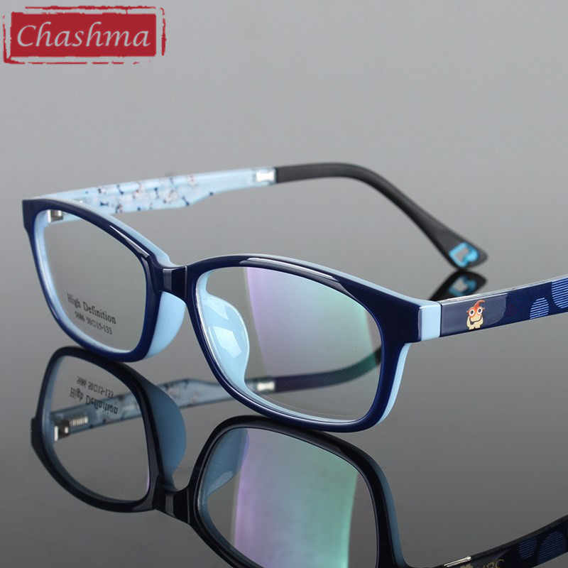 Chashma Quality Eye Glasses Children Optical Glasses TR 90 Material Flexible Girl and Boy Fashion Spectacle Frame