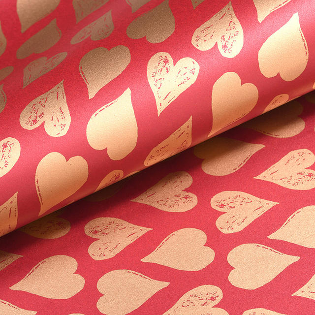 Patterned Gift Wrapping Paper Set 10 Pcs