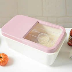 8KG Rice Barrels Large Capacity Sealed Storage Box Household Kitchen Grain Rice Bin Food Vegetables Storage Container