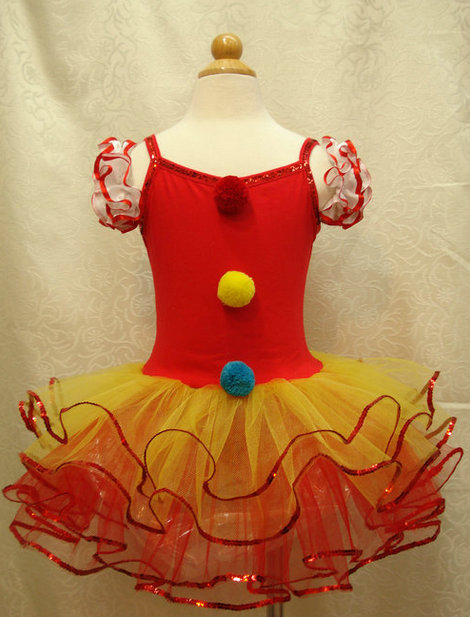 EMS DHL Free Shipping NEW Tutu dress clown dance dress performance wear Cosplay Dress tutu Holiday Costume Party Clothes