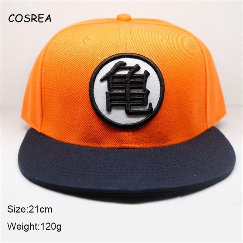Anime Dragon Ball Z Son Goku Hat for Girls Winter Women Hat Sun Hats for Boys Baseball Cap Men Visor Cosplay Costumes