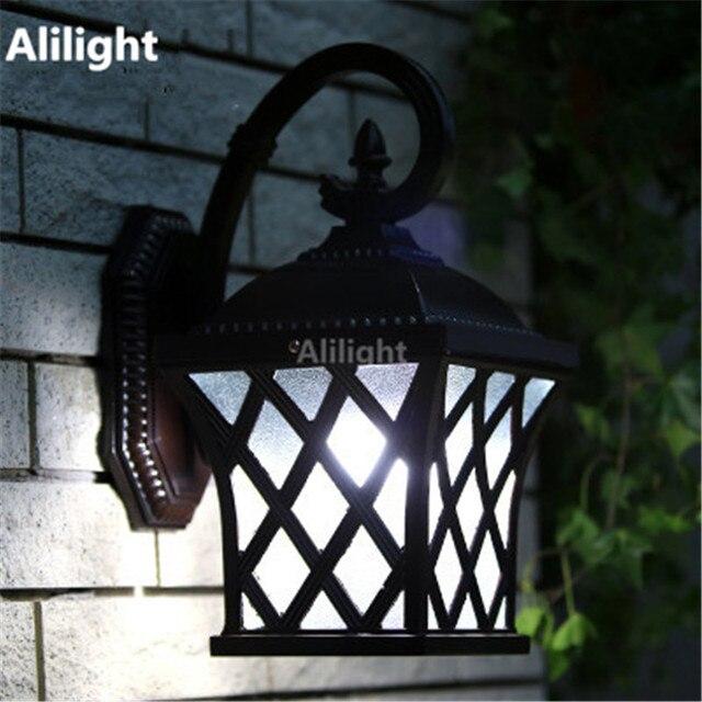 Clical Europe Garden Outdoor Lighting Porch Lights Vintage Wall Mounted Lamps Ings Gazebo Aluminum Waterproof