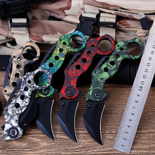 New multi-function utility knife high quality folding outdoor tool with self-defense supplies