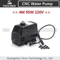 95W water pump 220V 4M for 3KW spindle motor
