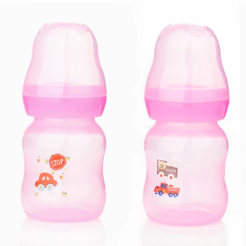 1 pcs 60ml Bottles Newborn Baby Infant Bottle PP Pet Feeding Nursing Nipple Cup
