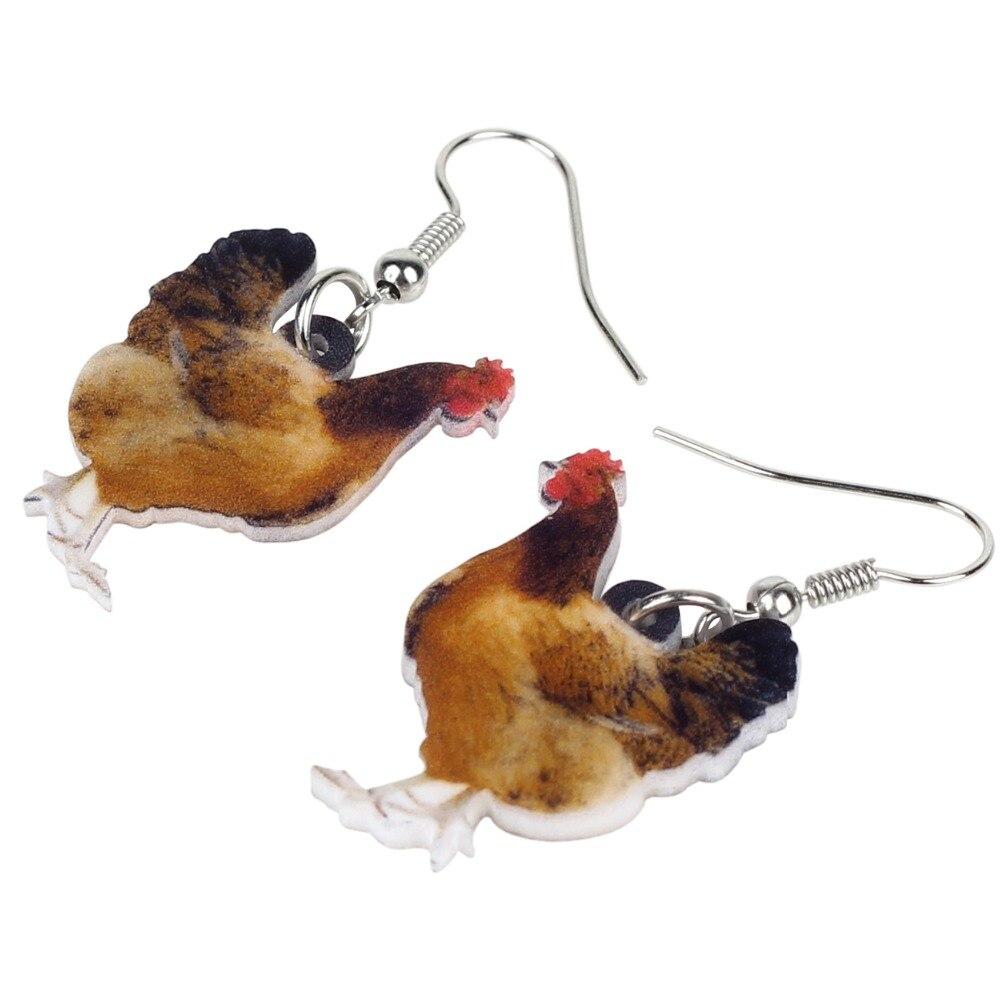 Hen Earrings 2