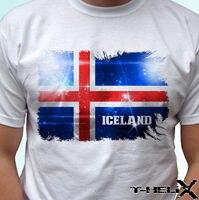 Iceland flag white t shirt top country design mens womens kids baby sizes custom printed tshirt,hip hop funny tee