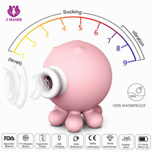 SHD-066 Sucking Vibrator Sex Toys for Women Adult Toys for Couple Sucking Clitoris with 7 Modes of Sucking and Vibrations