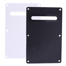 High Quality PVC Pickguard Tremolo Cavity Cover Backplate Back Plate Thickness 2.2mm for Electric Guitar Accessory Black/White