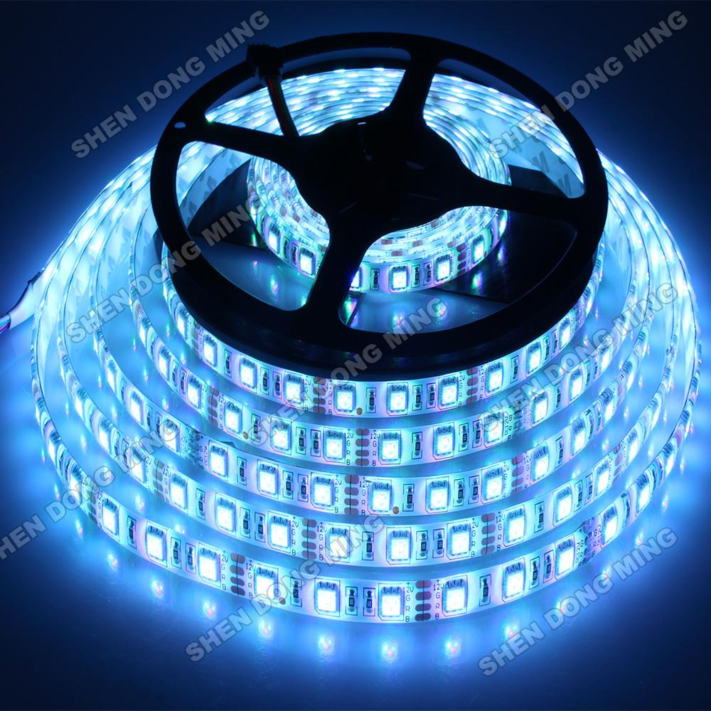 Outdoor 12 Volt 60leds Meter Led Strip Smd 5050 Rgb: 10 Meters 60Leds/m DC12V Outdoor IP65 Waterproof LED Strip
