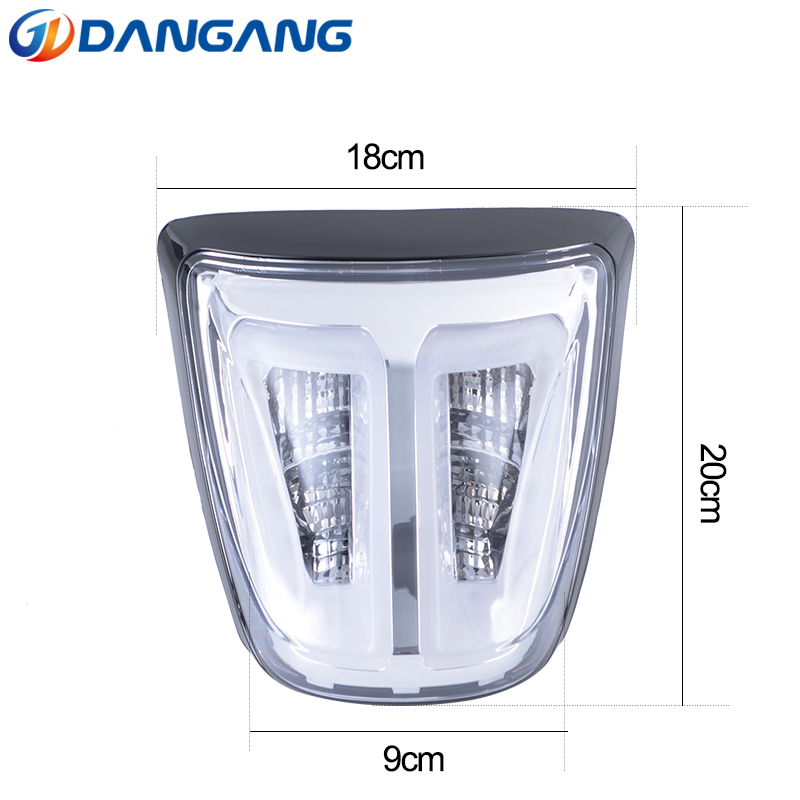 LED Taillight Rear Lamp Clear Lens Fit For Vespa Sprint Primavera 50 125 150