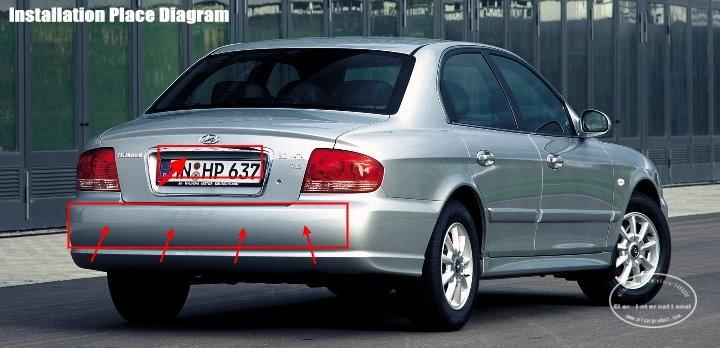 Hyundai-Sonata-EF-BIBI Alarm Parking System