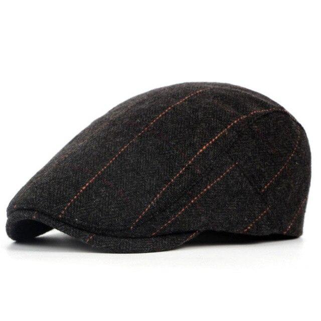 Ladies flat cap hat Peaky Blinders country Gatsby Hunting fishing Black  NEW