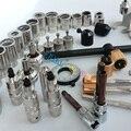 Liseron ERIKC common rail inyector de desmantelamiento y herramienta de eliminación de inyector diesel, herramientas de reparación de carrocería total 38 unidades