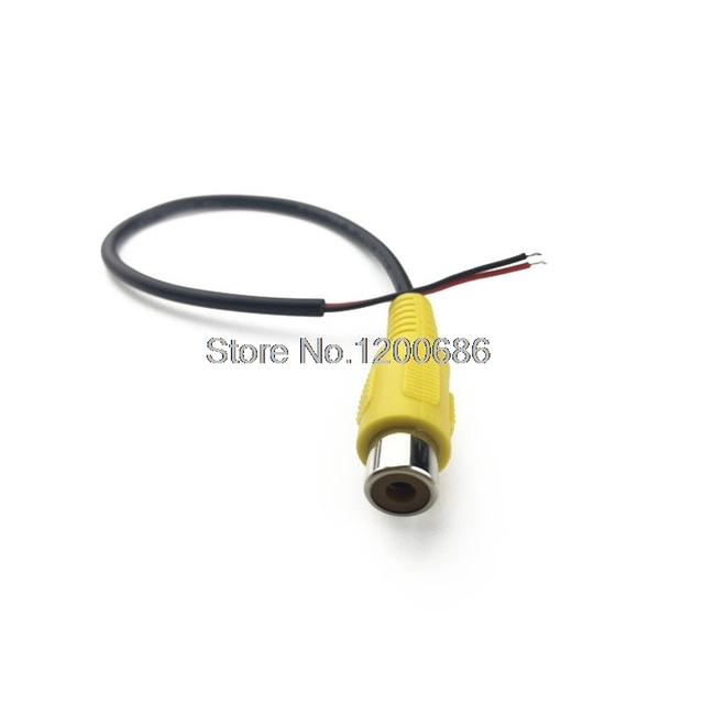 car audio cable wire harness rca single head av cable rca video rh aliexpress com RCA Connectors for Speaker Wire RCA Plug to Bare Wire