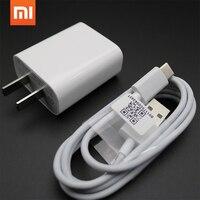Оригинальный Xiaomi 12 В/1.5A 18 Вт QC 3.0 Быстрый быстрой зарядки USB зарядное устройство адаптер и Micro USB кабель для передачи данных для Mi 4 5 5S 6 Max 2 4A