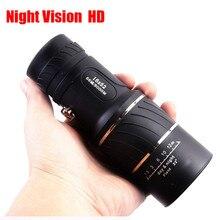 MUQGEW Hot sale binoculars for Super High Power 16X52 Portable HD OPTICS BAK4 Night Vision Monocular Telescope telescopic mirror