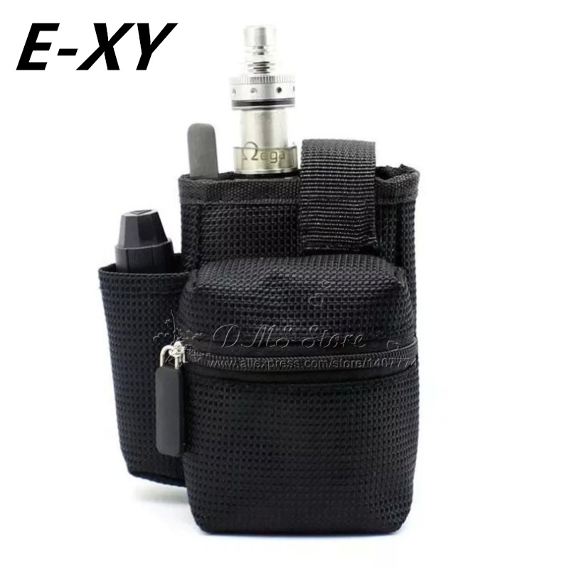 E-XY E Sigaretta Vapor Pocket E Cig Case Double Deck Vapor bag Custodia da trasporto mod vape per kit Mod Box