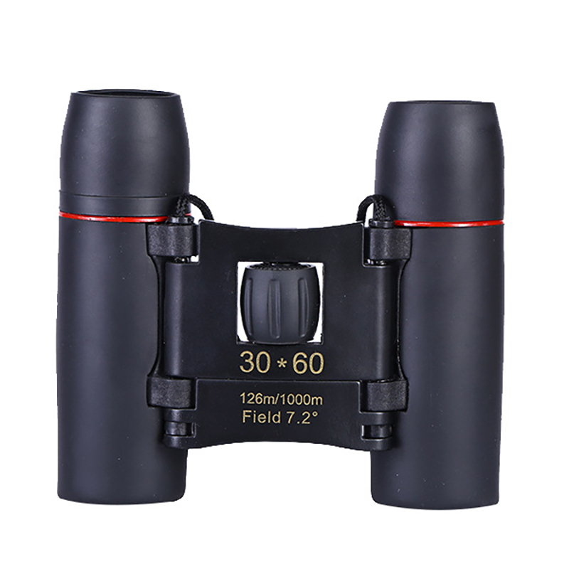 Image 2 - 30*60 folding mini binoculars high definition low light night vision outdoor bird watching concert available-in Monocular/Binoculars from Sports & Entertainment