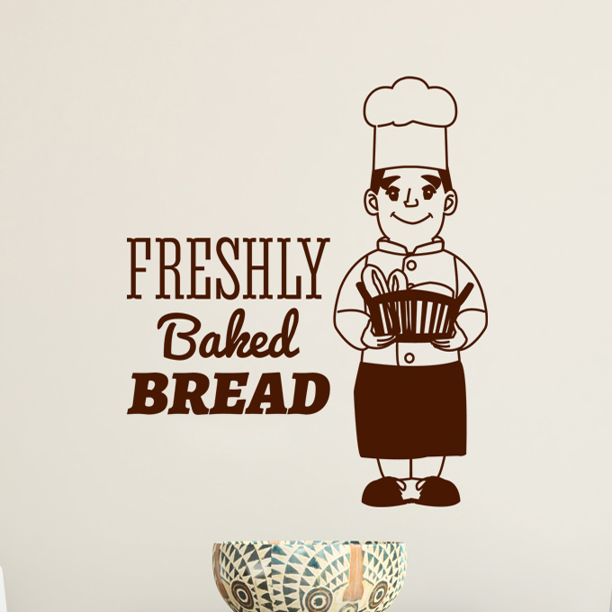 Baker Man Kitchen Decor