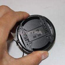 ГОРЯЧАЯ камера Анти-потеря шнур крышка объектива камеры защелкивающаяся Передняя 18-55 58 мм крышка объектива Крышка объектива для canon 450D 500D 550D 600D