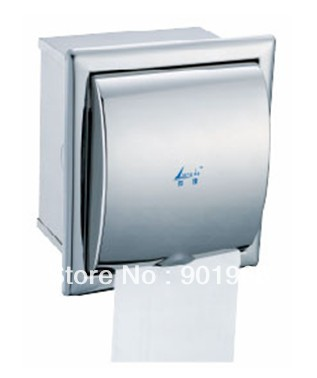4pcs/lot wall built-in-hotel stainless steel paper box-paper holder-paper dispenser