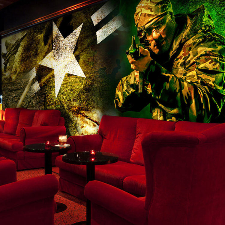 Popular restaurant games buy cheap restaurant games lots for Army wallpaper mural