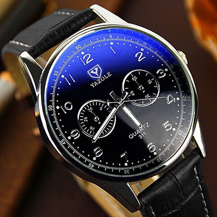 YAZOLE Business Watch Men Watches 2019 Top Brand Luxury Famous Mens - Relojes para hombres