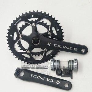 Image 1 - Hợp Kim Nhôm Xe Đạp Fixed Gear Crankset 170mm 110 BCD Xe Đạp CNC Rỗng Quay Chainwheel 34 50T chân đế