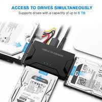 SATA vers USB adaptateur IDE USB 3.0 2.0 Sata 3 câble pour 2.5 3.5 disque dur disque dur HDD SSD convertisseur IDE SATA adaptateur livraison directe