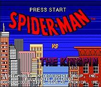 Spider Man VS. The Kingpin 16 bit MD Game Card For Sega Mega Drive For Genesis
