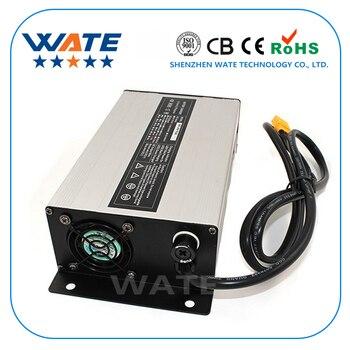 87.6V 9A Charger 72V LiFePO4 Battery Smart Charger Used for 24S 72V LiFePO4 Battery Input 220V Aluminum case