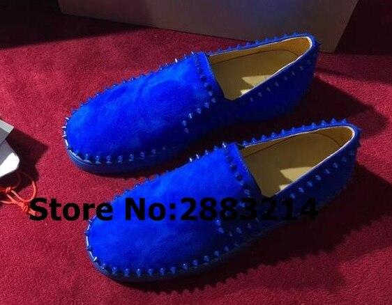 Oryginalna jakość chaussure homme mężczyzna trampki zapatillas hombre letnie slip on męskie mieszkania buty spike nity mokasyny w Męskie nieformalne buty od Buty na  Grupa 2