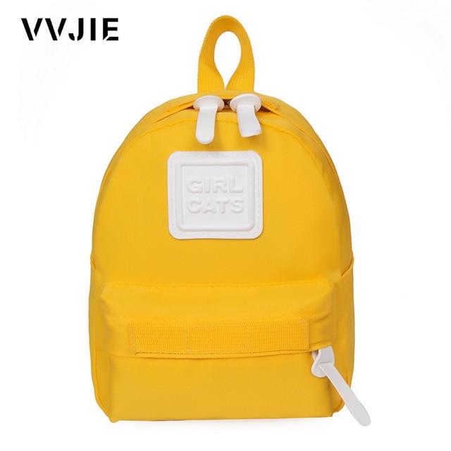 c67e11567b VVJIE Cute Baby Backpack Boys Girls Preschool Bags Mini Children s Backpacks  Kindergarten School Bags For Girls Kids White Bag