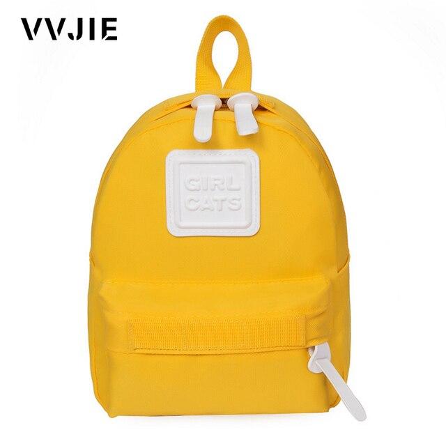 28a367d974 VVJIE Cute Baby Backpack Boys Girls Preschool Bags Mini Children s  Backpacks Kindergarten School Bags For Girls Kids White Bag