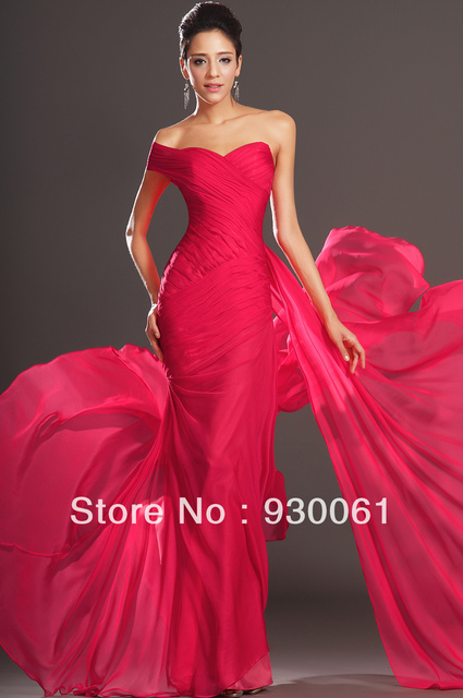 Hot Sale Elegant Red Evening Dresses Party Dresses Long Plus Size Uk
