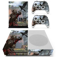 APEX Legends Skin Sticker Decal For Xbox One S Console and Controllers for Xbox One Slim Skin Stickers Vinyl