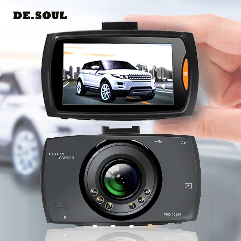 PARASOLANT 140 Wide-angle Car recorder Full HD 1080P Dash Cam Loop Recorder Car DVR 6 fill lights Clear Night Vision Car Camera shadow recorder 2 7 tft touch key 140 1080p hd cmos wide angle night vision wdr car camcorder
